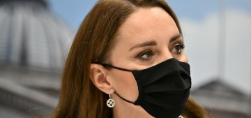 Duchess Kate repeats a Zara dress for a keen stop at a London university