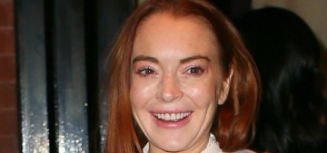 Lindsay Lohan signs up for her own podcast, how long before she bails?