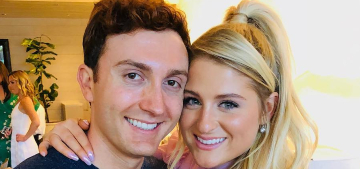 Meghan Trainor says she's only pooped at the same time as her husband once