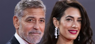 George & Amal Clooney premiered 'The Tender Bar' at the London Film Festival