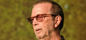 Eric Clapton donated $1300 and a family van to an anti-vaccine band