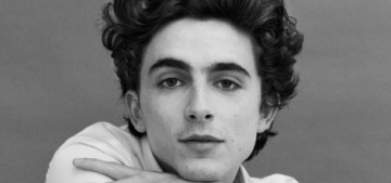 Timothee Chalamet received this advice: 'No hard drugs & no superhero movies'