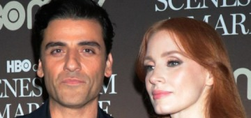 """""""Nothing but pretty pictures of Jessica Chastain & Oscar Isaac"""" links"""
