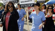 Grey's Anatomy cast joins picket line