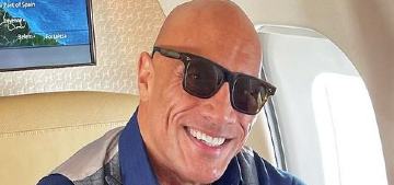 Dwayne Johnson: 'If you've ever been hungry, then you'll never be full'