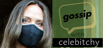 'Gossip with Celebitchy' podcast #105: Jolie and Jonny Lee Miller need to reconcile