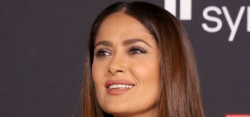 Salma Hayek wore Gucci to the LA premiere of 'The Eternals': gorgeous?
