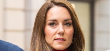 Duchess Kate wore red to the Forward Trust event: copykeening strikes again?