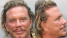 Mickey Rourke gets a DUI… while riding his mint green Vespa