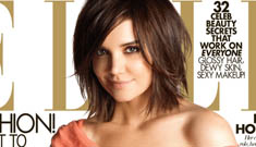 """Katie Holmes loses the zombie for Elle's """"Women in Hollywood"""" issue"""