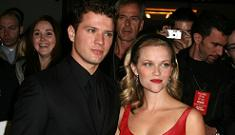 Ryan Phillippe says he was suicidal after split with Reese