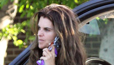Maria Shriver busted talking on the phone while driving – Governator mad