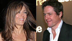 Are Hugh Grant and newly-married Liz Hurley reunited?