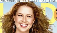 Jenna Fischer on the cover of Shape