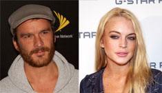 Lindsay Lohan & still-married Balthazar Getty spotted making out