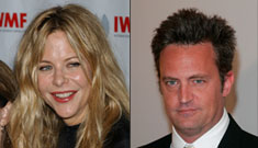 Meg Ryan and Matthew Perry spend the night together