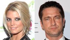 "Gah! Jessica Simpson & Gerard Butler go on a ""date"" (Update)"