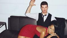 """""""Rihanna gets spanked by Robin Thicke"""" links"""
