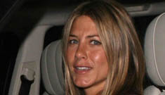 Jennifer Aniston makes disabled fan's day