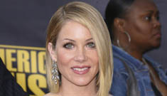 Christina Applegate was beat up by her first boyfriend for three years