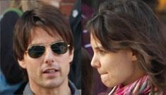 Tom Cruise is afraid Katie will grow a spine, just like Nicole Kidman