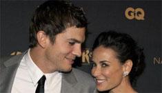 Ashton Kutcher pitches film about Demi Moore & Bruce Willis's divorce