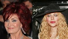 Sharon Osbourne And Courtney Love Take Their Fued To The Lawyers