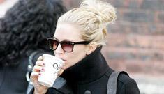 Sienna Miller probably split with drama-less, unmarried DJ boyfriend