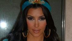 Kim Kardashian's ridiculously revealing 'Jasmine' Halloween costume