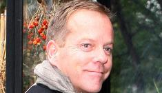 Kiefer Sutherland's $700 bar tab before lunch