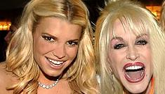 Dolly Parton & Jessica Simpson tweet about their enormous boobs