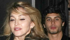 Madonna flies to Rio to meet Jesus Luz's parents, fueling wedding rumors