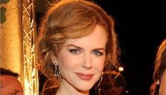 Nicole Kidman, back to red, looks less waxy & severe