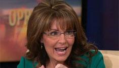 Sarah Palin calls Levi an aspiring p0rn star; Levi doesn't show the full monty