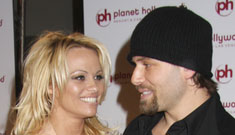 Pamela Anderson and Rick Salomon: Newlyweds