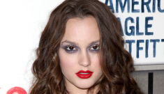 Is Leighton Meester trying too hard to be a vamp?