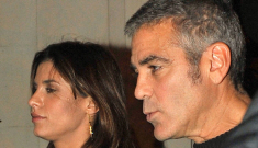 Did Elisabetta Canalis cheat on George Clooney?