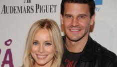 Star: David Boreanaz's wife decides to forgive his affair