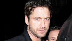 Gerard Butler probably hooking up with Kimberly Stewart & Natalie Imbruglia