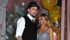 Nicole Richie & Joel Madden have holiday party for needy families