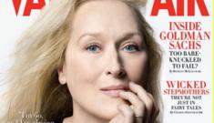 Meryl Streep, 60 years old, is Vanity Fair's January cover girl