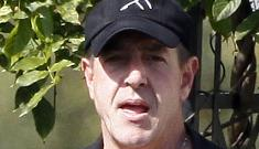 Michael Lohan suicide Tweet threats are fake