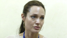 Angelina Jolie thinks Pres. Obama will only get one term