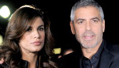 George Clooney is looking deliciously dirty, jokes about smoking crack