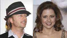Jenna Fischer dating David Spade (update: not true)