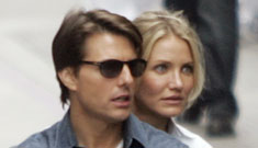 Cameron Diaz on Tom Cruise's manic insistence on doing more dangerous stunts