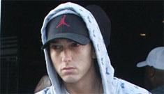 Eminem compares his drug problem to Michael Jackson