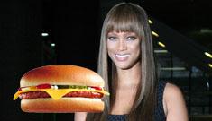 Tyra Banks really did serve McDonalds at staff Christmas party