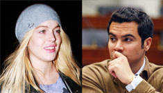 Us Weekly: Lindsay Lohan & Jessica Alba's man Cash Warren made out at a bar