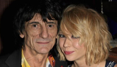 Ronnie Wood, 62, arrested for beating up his 20-year-old girlfriend